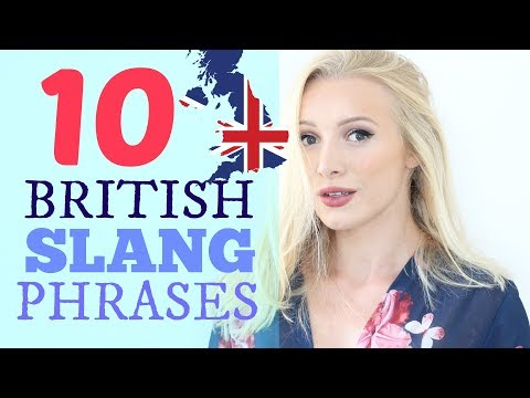 10 Common British English Slang Expressions & Phrases | #Spon