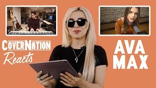 Ava Max Reacts to Fan Covers | Cover Nation Reaction Videos