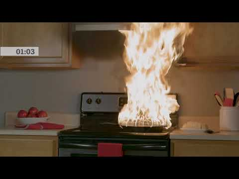 Cooking Fire Demonstration | State Farm®