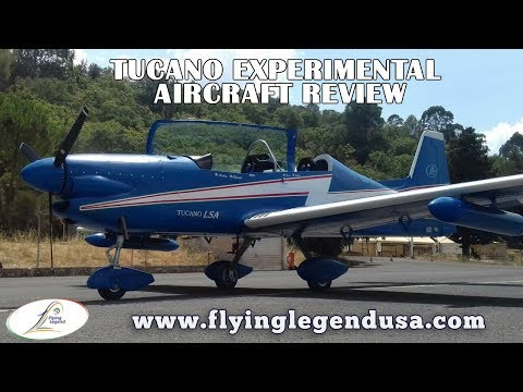 Tucano, Flying Legend supercharged experimental aircraft, retractable gear, constant speed prop.
