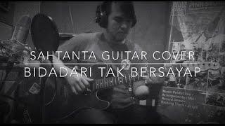 Video Anji - bidadari tak bersayap fingerstyle guitar cover by sahtanta download MP3, 3GP, MP4, WEBM, AVI, FLV Januari 2018