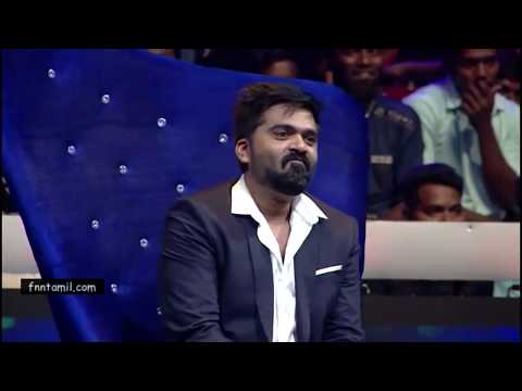 STR in Vijaytv Supersinger Manmadhan Nibuna Nibuna Song