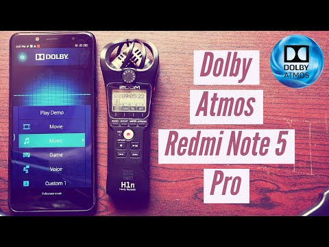Redmi Note 5 Pro | How To Install Dolby Atmos Module - YouTube