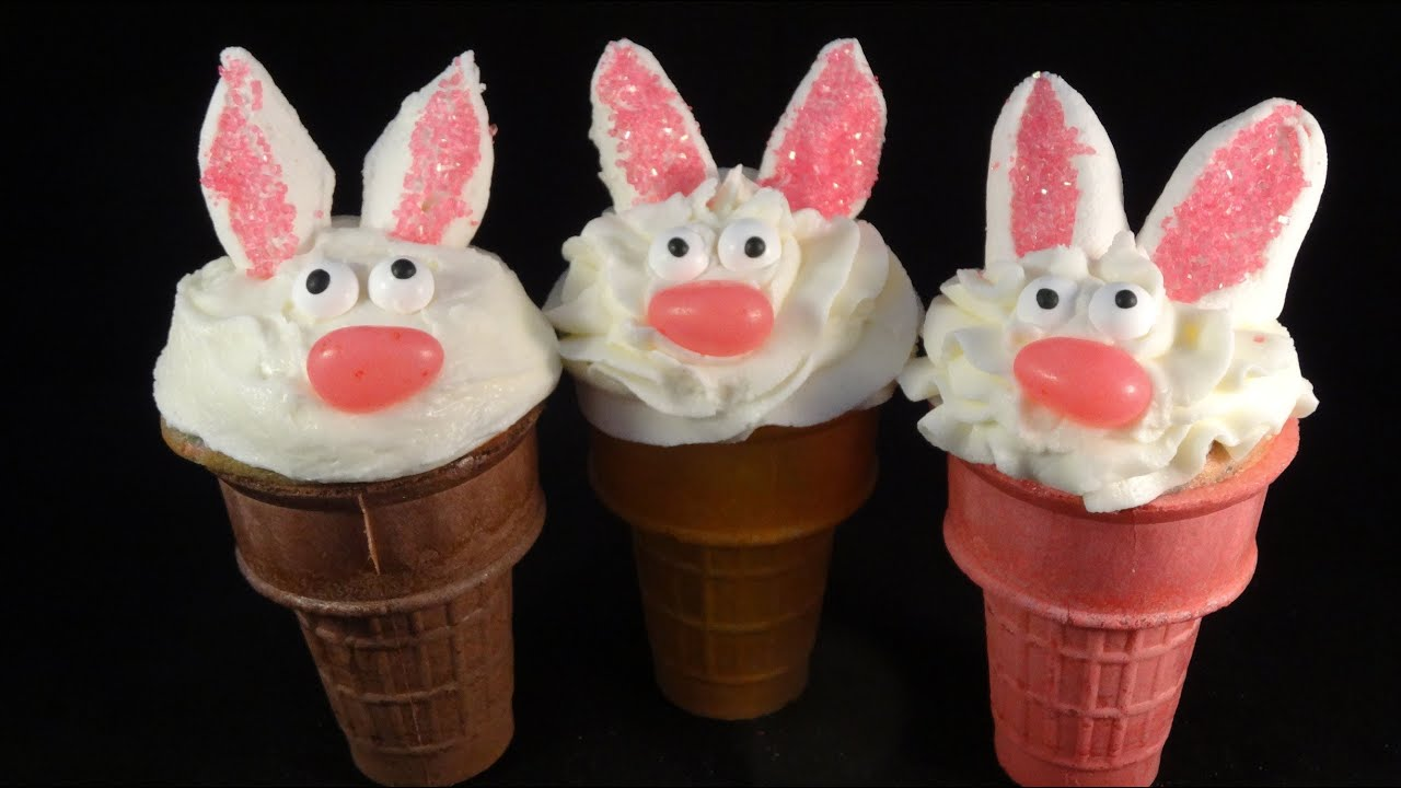 Easter Cupcake Cakes