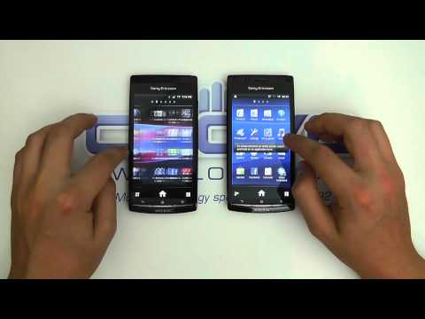 Sony Ericsson Xperia Arc S v Sony Ericsson Xperia Arc - Camera Loading Speed