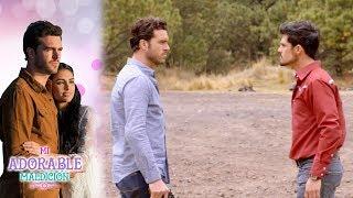 Rodrigo y Rafael se enfrentan en un duelo a muerte | Mi adorable maldición - Televisa