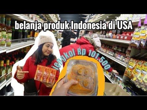 (DAILY VLOG) Belanja Produk Indonesia Di Amerika ( Part 1 )