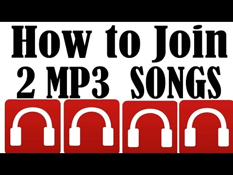 How to join two mp3 song tracks very fast 2015
