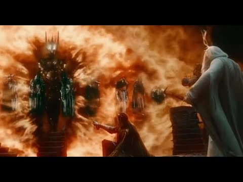 574a768ea8dd Dark Lord SAURON Scenes * LOTR/Hobbit - YouTube