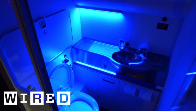 uv light bathroom boeing s self cleaning bathroom would nuke germs with uv 14898