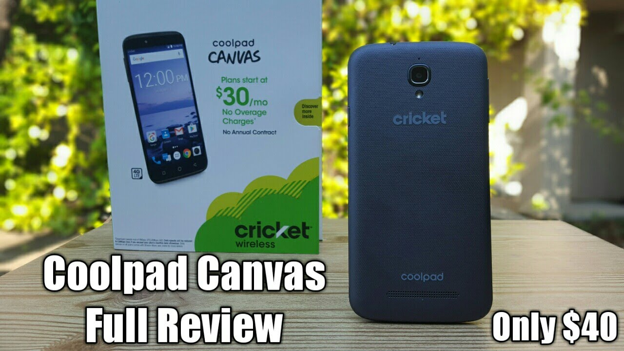 C cricket phones for sale existing customers - Coolpad Canvas Cricket Wireless Full Review A Good Smartphone For Only 40