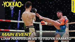 YOKKAO World Title 65kg: Liam Harrison vs Tetsuya Yamato at YOKKAO ...