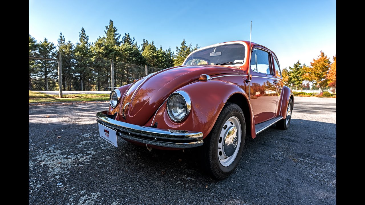 1968 volkswagen beetle video waimak classic cars new zealand youtube. Black Bedroom Furniture Sets. Home Design Ideas