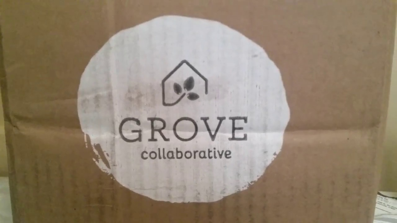 grove collaborative haul my first box july 20 2017 youtube. Black Bedroom Furniture Sets. Home Design Ideas