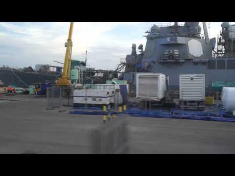Drive through Naval Station Rota