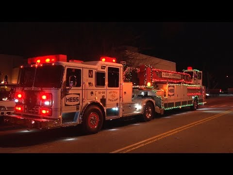 2017 Suffern,NY Annual Christmas Parade 12/2/17