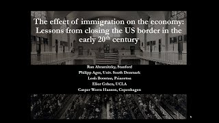 The Effects of Immigration on the Economy over the 20th Century
