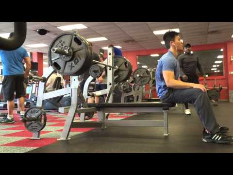 Bench pressing 410lb @ 154 body weight - HIGHEST BENCH YET