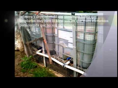 Como unir tanques de agua para recojer agua de lluvia for Como fabricar tanques de agua para rusticos