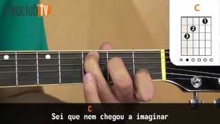 Amigo Apaixonado - Victor e Leo (aula de violão simplificada)