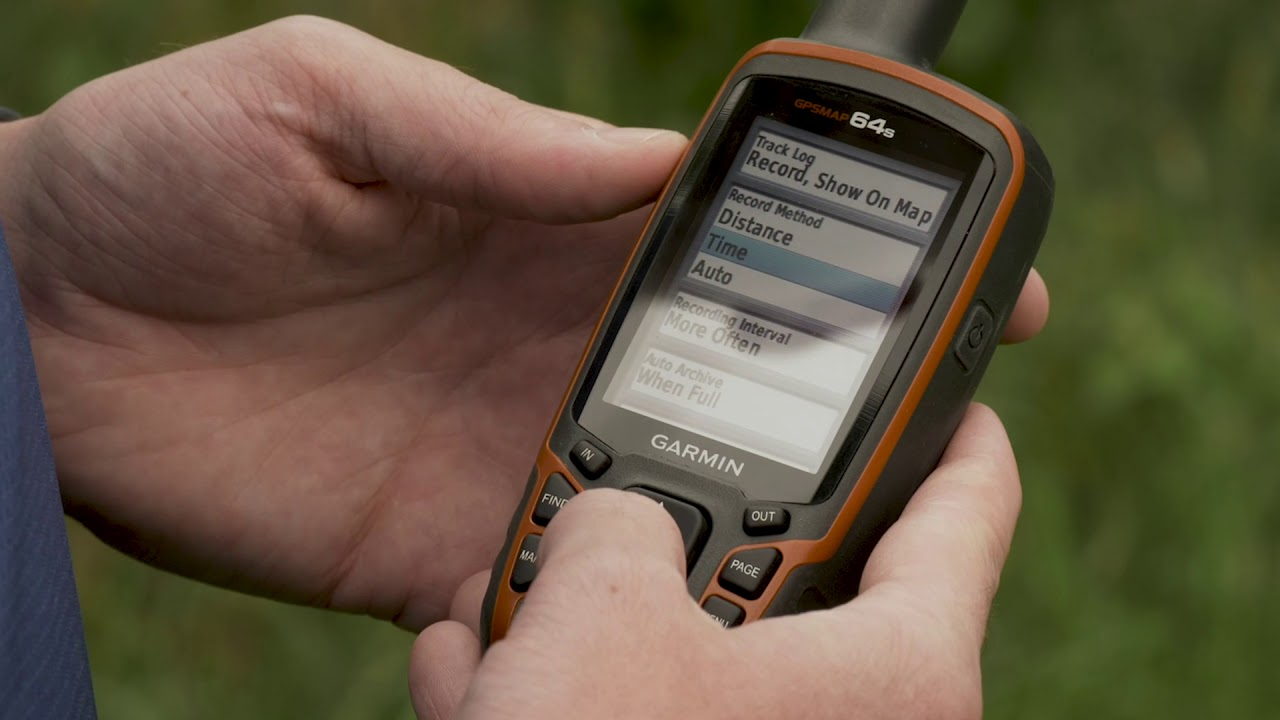 Support: Track Settings on a Garmin GPSMAP® 62, 64 or 78