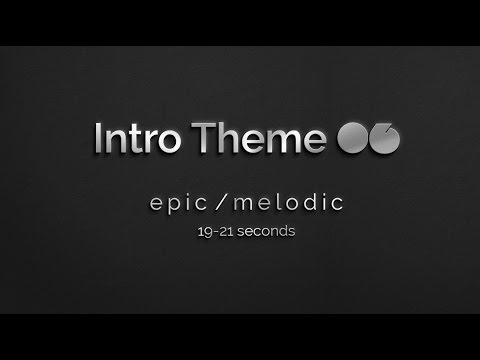 Intro Theme Music 06 (Version 2): 20 Seconds