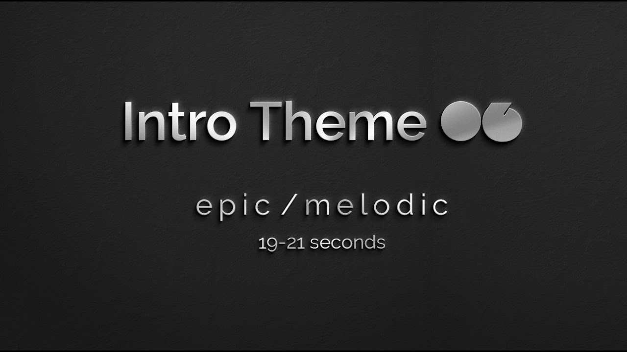 Free Instrumental Music: Short themes for intros, outros