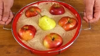 Михаил Vegan рецепты | Яблочный пирог Шарлотка