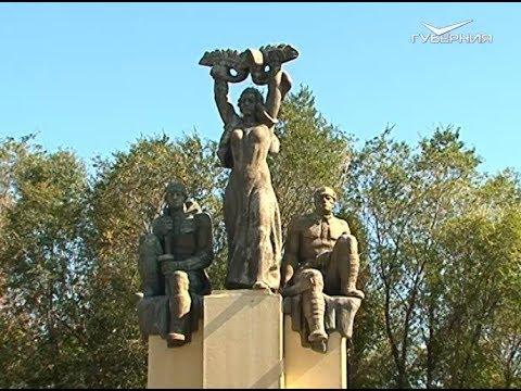 В Августовке благоустроили музейный парк и детскую площадку