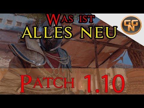 Assassins Creed Origins - Patch 1.10 - Was ist alles Neu ? Bye Bye Heka Truhen ?!