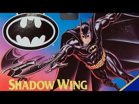 Shadow Wing Batman Kenner Dark Knight Collection Returns 1989Batman.com ActionFeatures.Net Review