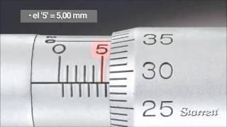 ¿Como leer el micrómetro en milímetros?