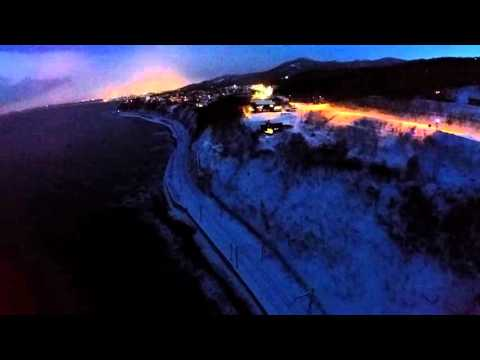 Sapporo coastline - drone flyover