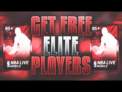 HOW TO GET FREE ELITE PLAYERS IN NBA LIVE MOBILE!