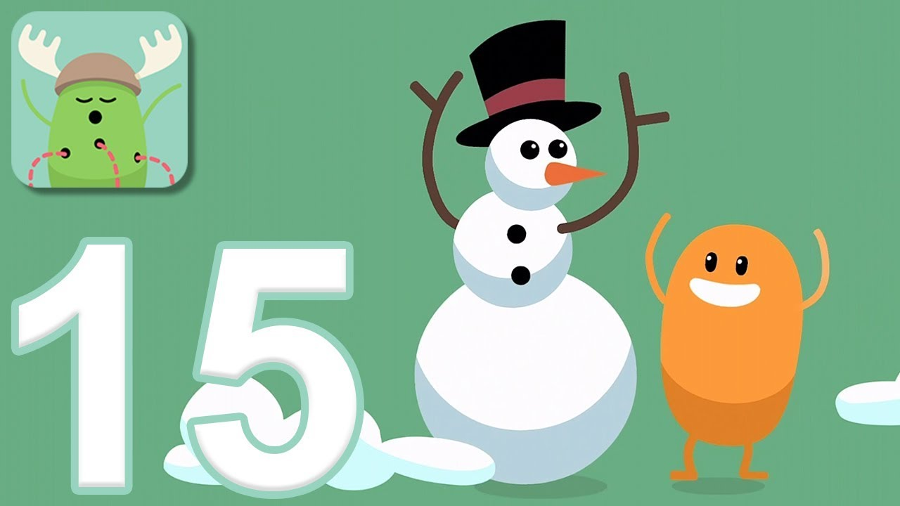 Dumb Ways to Die - Gameplay Walkthrough Part 15 - 3 New Christmas Games (iOS, Android)