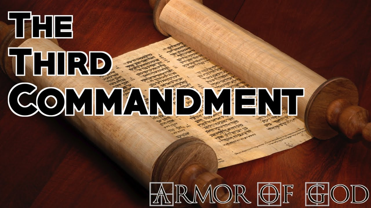 Armor of God - The Third Commandment (Mike James) - YouTube