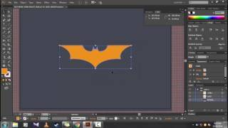 Creating BatMan DarkNight Logo in Illustrator