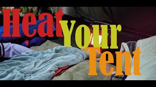 Stay Warm in y๐ur Tent (Winter Camping Tips)