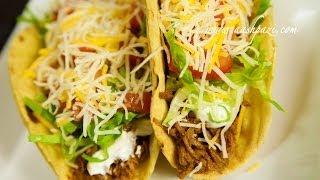 Taco (beef Taco) Recipe