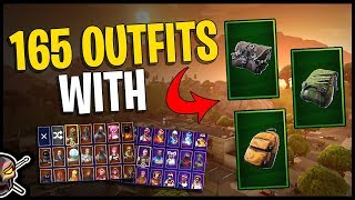 Buckled | Slashed | Vintage Back Blings on 165 Outfits | Individual Back Blings in Fortnite!