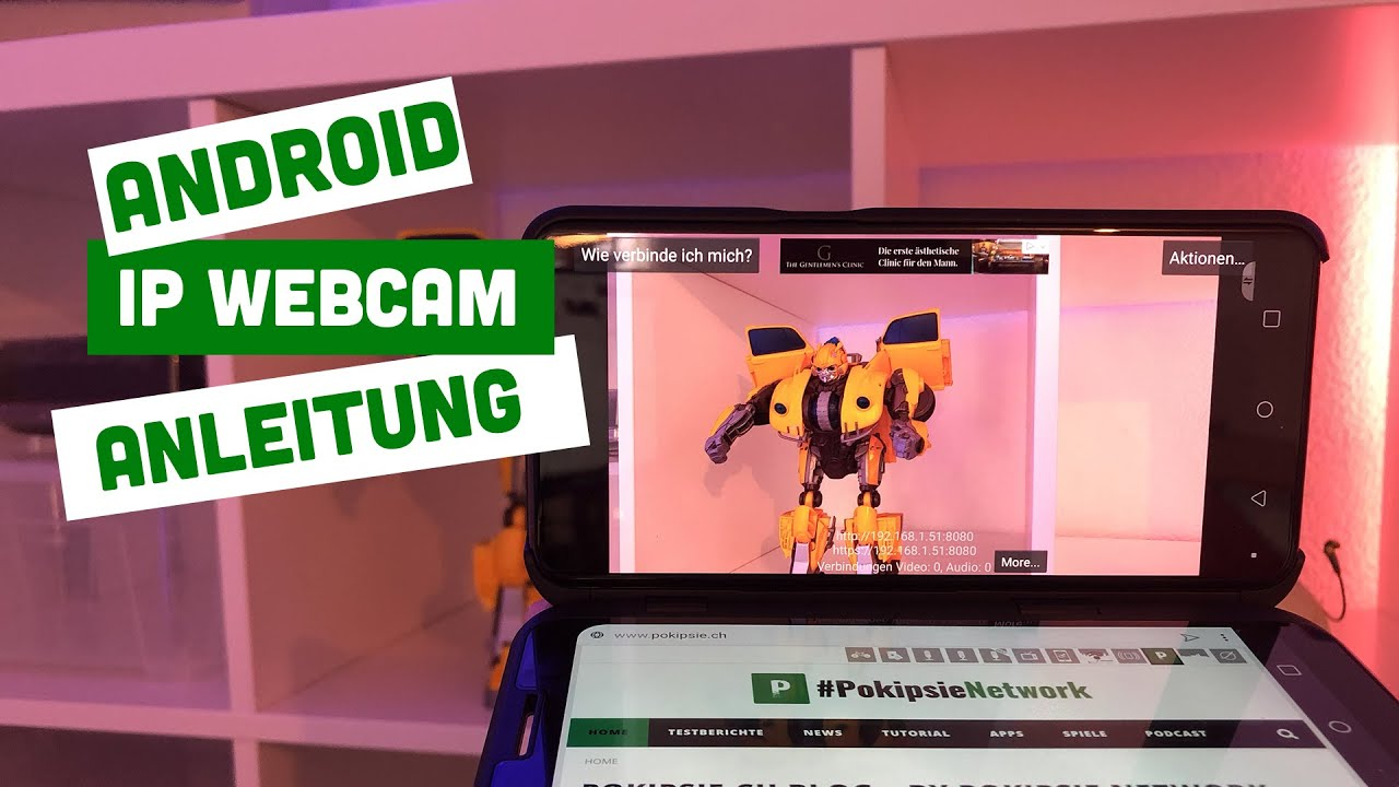 Android - IP Webcam