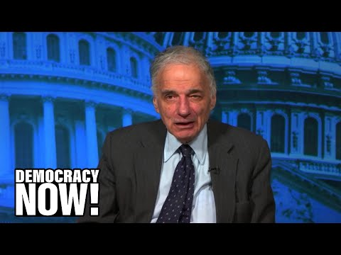"Ralph Nader Denounces Trump Budget as Corporatist, Militarist & Racist: ""The Mask is Off"""