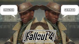 Fallout 4 Synchro / English vs German
