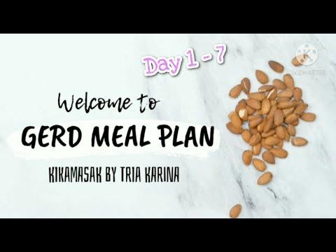 7 Hari Pola Makan untuk Penderita GERD   Sarapan, makan berat, dan cemilan