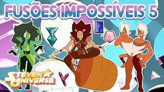 Gambar cover Impossible and unlikely fusions #5 (Steven Universe) [Feat. Ice, coral etc]