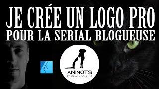 Je crée un logo pour LA serial blogueuse. Mon workflow avec Affinity Designer