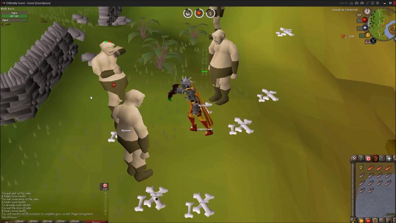 Osrs Slayer Guide Ogre Youtube