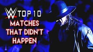 Top 10 Undertaker Wrestlemania Matches That Didnt Happen