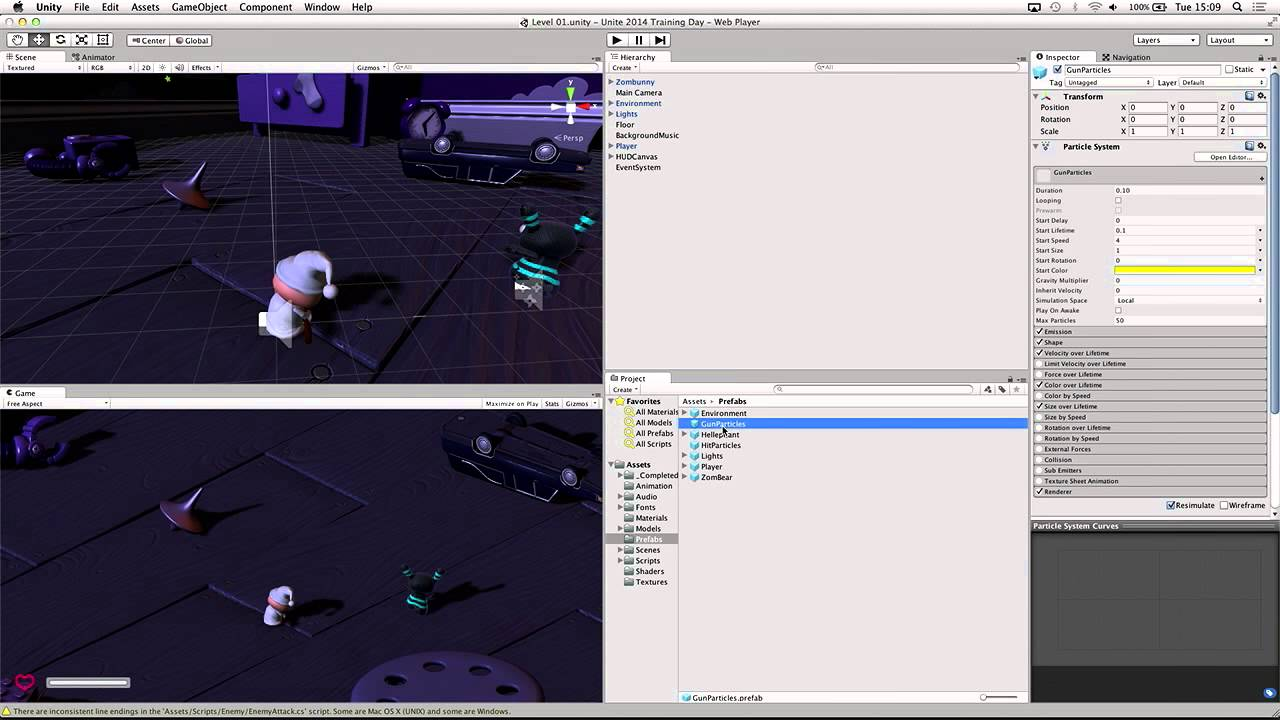 A great top down shooter #Unity tutorial that will show you how