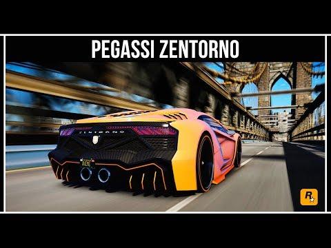 GTA Online: Pegassi Zentorno - Самый быстрый суперкар на кольце